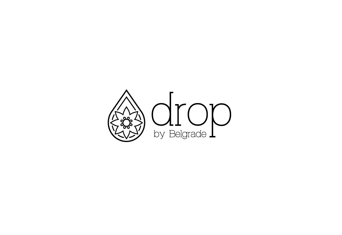 Logo dizajn za Drop by Belgrade salon lepote