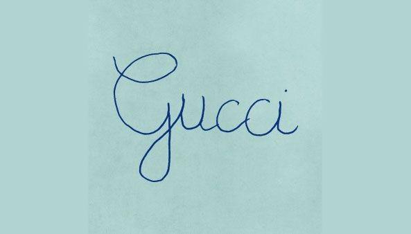 Novi logotip Gucci za kampanju