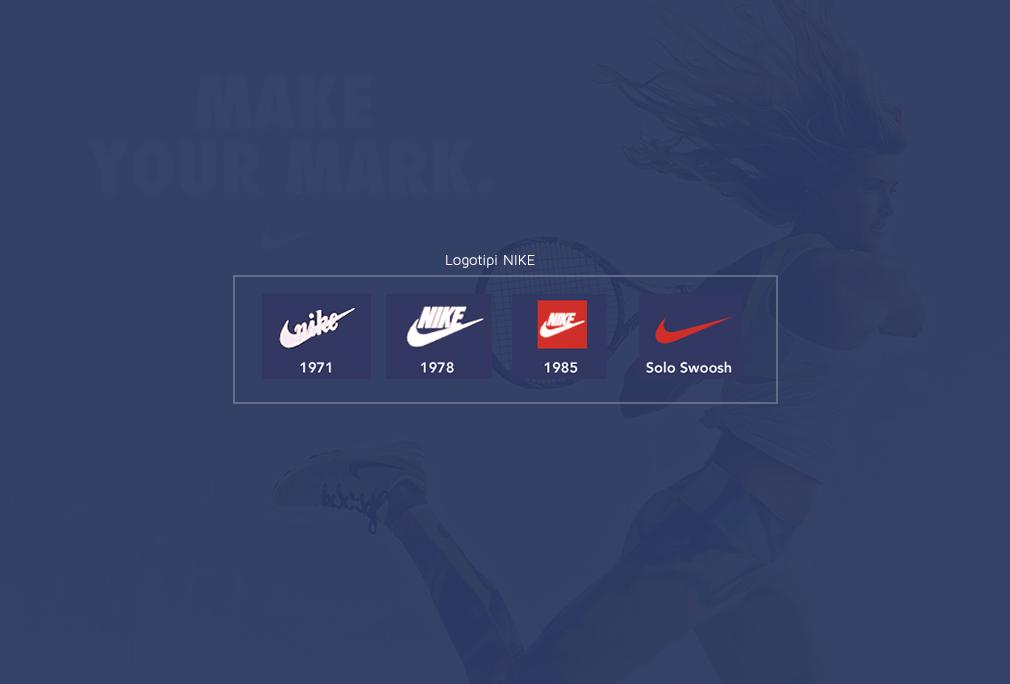 Nike logotipi kroz istoriju - nastanak Nike brenda