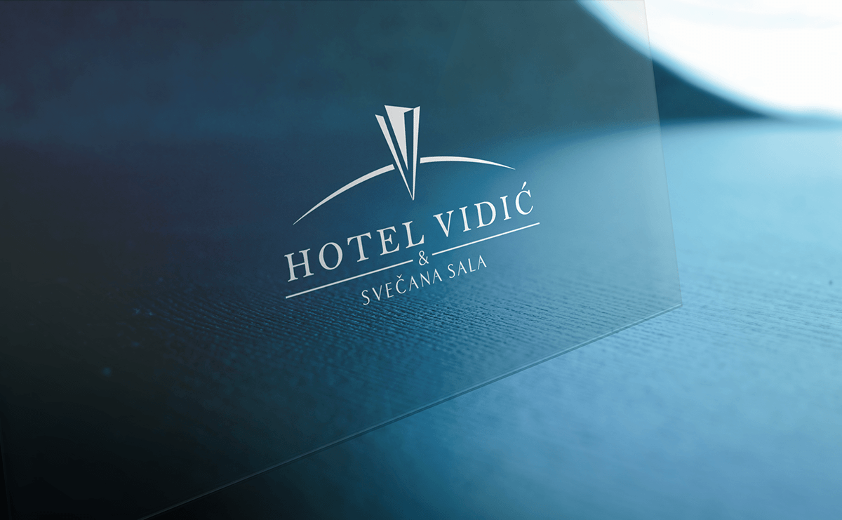 Izrada logotipa za Hotel Vidic