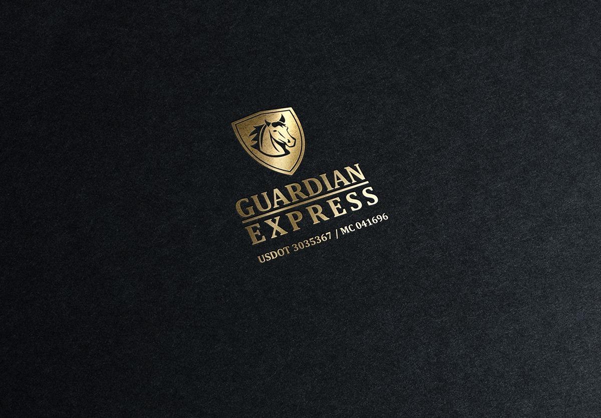Izrada logotipa za Guardian Express
