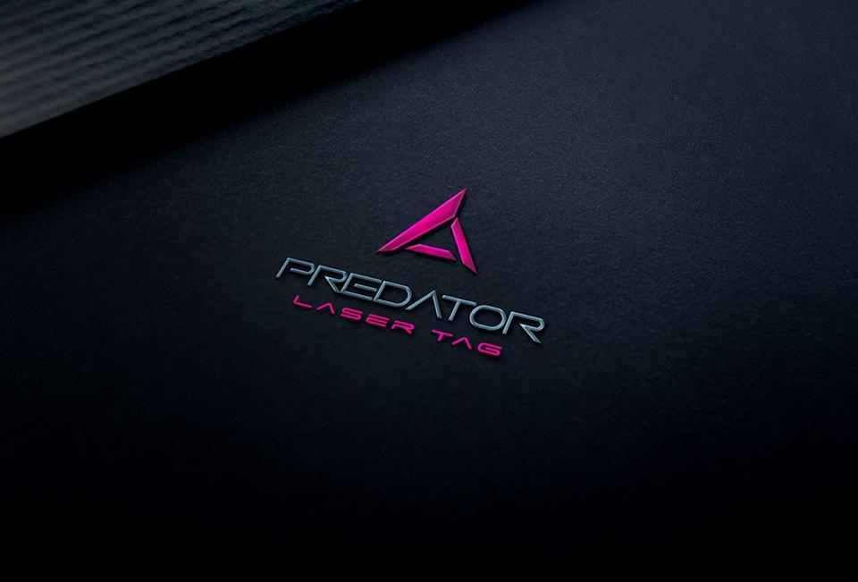 PREDATOR laser tag - izrada logotipa
