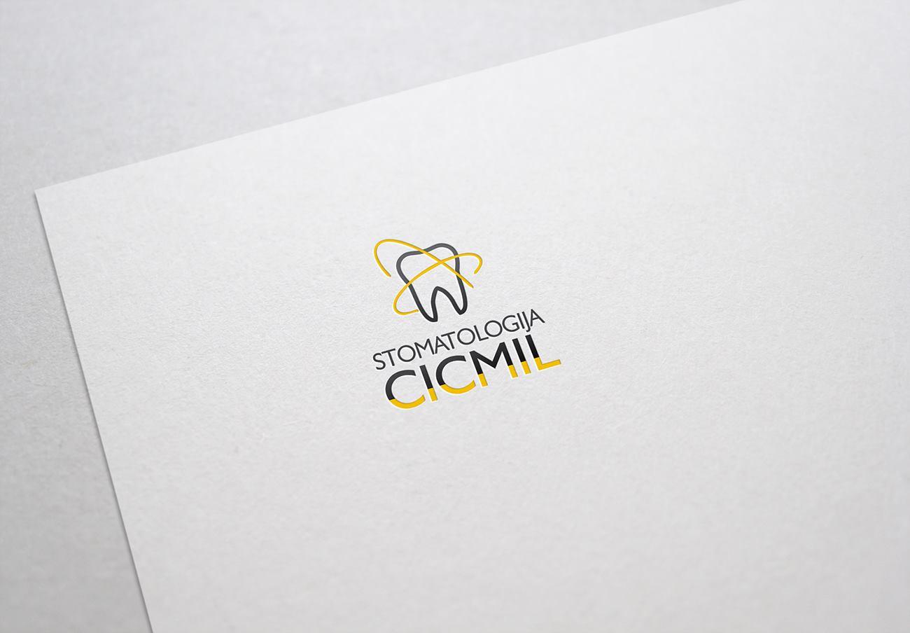 STOMATOLOGIJA CICMIL izrada logotipa