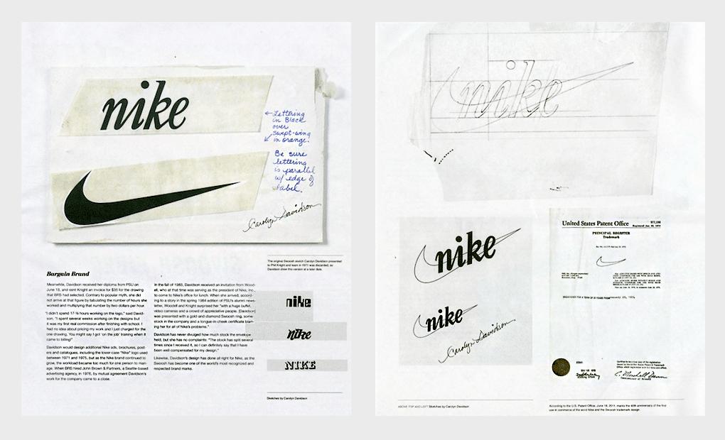 Istorija nastanka Nike logotipa