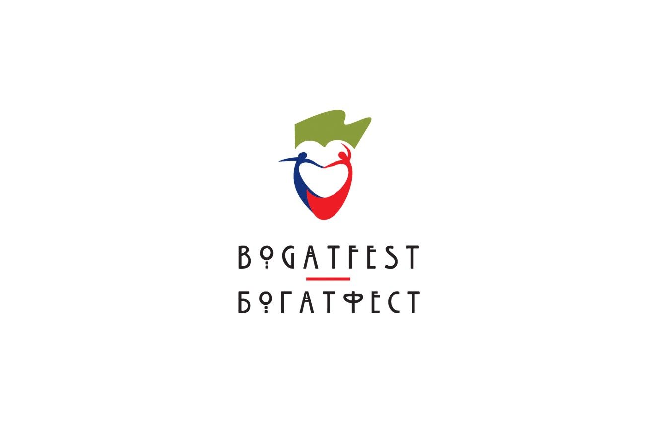 Izrada logotipa za medjunarodni festival Bogatfest iz Bogatica
